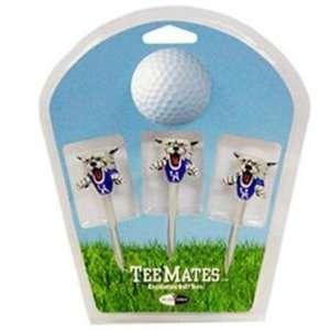 Kentucky Wildcat 3 Pack Golf Ball Tee Mates