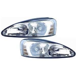 Pontiac Grand Prix Headlight OE Style Chrome Replacement