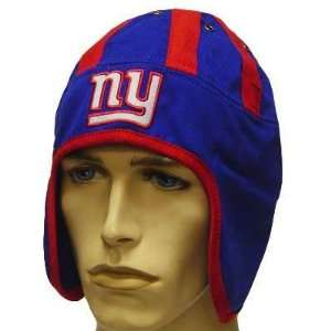 NFL NEW YORK GIANTS NY BLUE RED HELMET HEAD HAT CAP: Sports & Outdoors