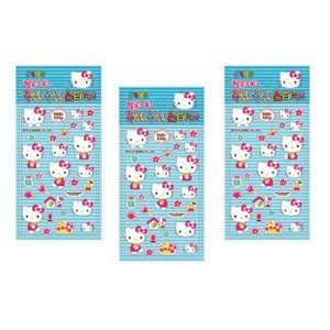 Hello Kitty Sanrio Casting Sticker Set   Blue