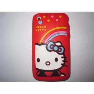 I Phone 3G 3GS light weight Hello Kitty Rainbow Style