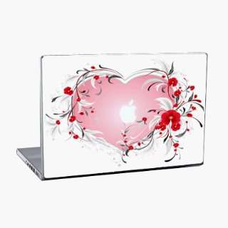 MacBook Pro 17 (1.Generation)   Heart Notebook Laptop Vinyl Sticker