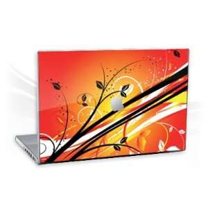 MacBook Pro 17 (1.Generation)   Sunset Flowers Notebook Laptop Vinyl