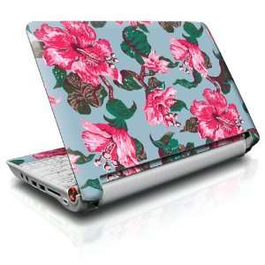 Vintage Hibiscus Design Skin Decal Sticker for Acer