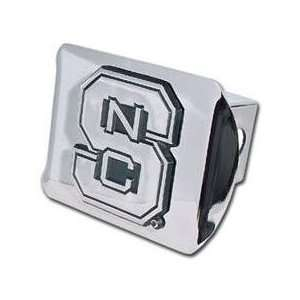 State University Wolfpack Chrome Trailer Hitch Cover Automotive