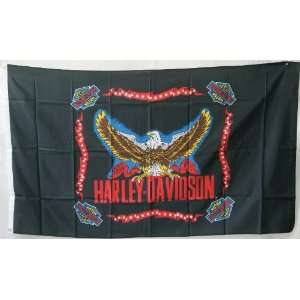 3x5 Harley Davidson Eagle Motorcycle Flag Everything