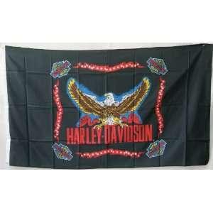 3x5 Harley Davidson Eagle Motorcycle Flag Everything