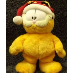 Holiday Oversized Super Plush 19 Inch Santa Garfield Doll Toys