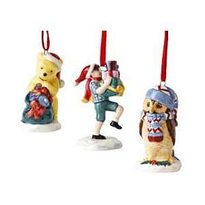 Royal Doulton, Christmas Ornament Set Pooh, Christoper
