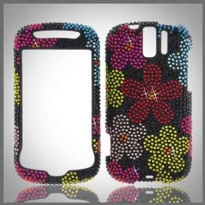 bling rhinestone diamond case cover HTC MyTouch Slide 3G Cell Phones