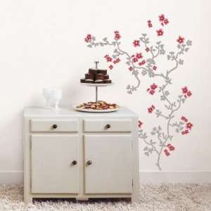 Japanese Cherry Tree Wall Decal , 19x27