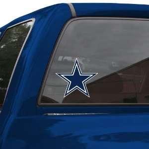 NFL Dallas Cowboys 8 Color Team Logo Car Decal