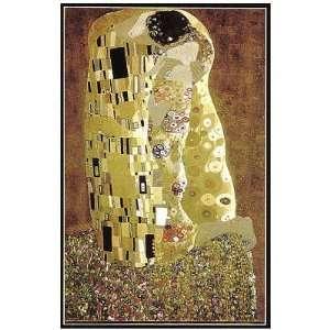 Klimt The Kiss Jigsaw Puzzle 1000pc Toys & Games