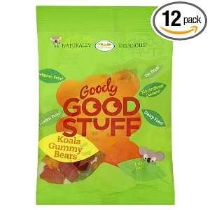 Goody Good Stuff Koala Gummy Bears, 3.5 Ounce Bags (Pack of 12)