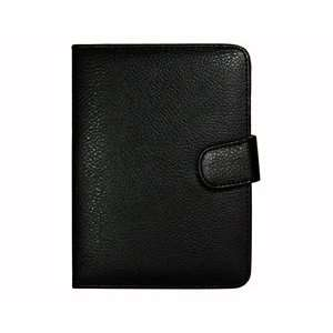 Black color PU Leather Case/Cover for  4 th generation Kindle