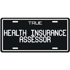 Health Insurance Assessor  License Plate Occupations