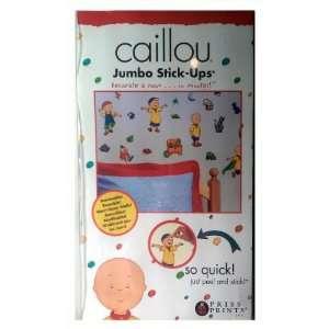Caillou Jumbo Kidsroom Wall Decal Reusable Stick Ups