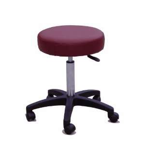 Adjustable Burgundy Medical/ Massage Stool