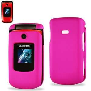 Cell Phone Case for Samsung R250 MetroPCS   HOT PINK Cell Phones