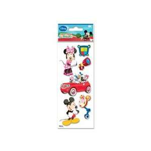 Disney Mickey Mouse Club House Dimensional Sticker Arts