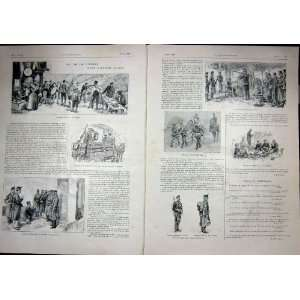 Swiss Army Oranais Taghit Military French Print 1903