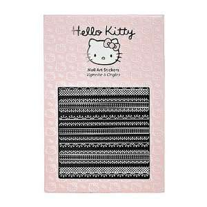 Hello Kitty Nail Art Stickers Lace