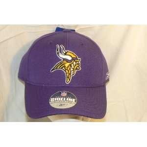 NFL Minnesota Vikings Fitted Sideline Ball Cap Hat (Size 7