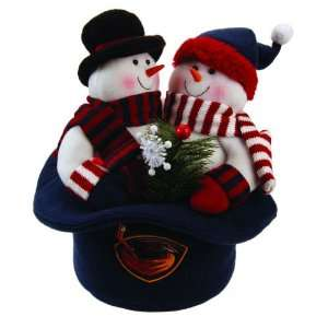 12 NHL Atlanta Thrashers Snowmen Top Hat Table Christmas