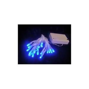 Operated Blue LED Wide Angle Christmas Lights Patio, Lawn & Garden