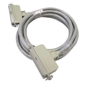 Patch Cord, 10 Foot Length, Cable To Panel, 180 Degree Male Plug At