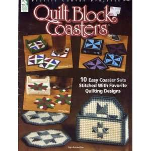 Quilt Block Coasters (Plastic Canvas Projects) Laura Scott Books