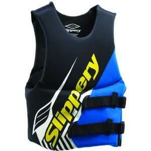 REV SIDE ENTRY JETSKI/SKI/WATERCRAFT VEST BLACK/BLUE 2XL Automotive