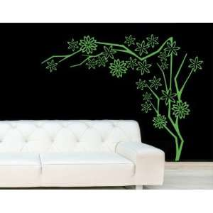 Flower Tree   Vinyl Wall Decal