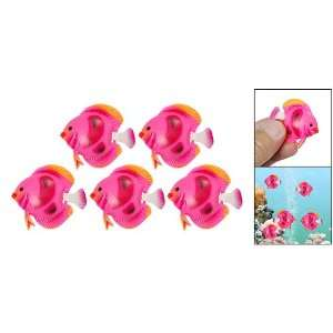 Plastic Tropical Sea Float Fish Decoration for Tank