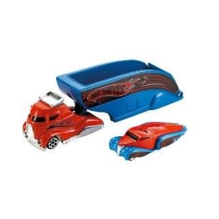 Truckin Transporters 1:64 Scale Truck   Drag Car Hauler: Toys & Games
