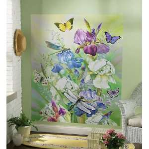 Spring Floral Removable Wall Decal Mural