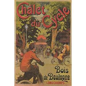 CHALET DU CYCLE BICYCLE BIKE CYCLES FRANCE FRENCH VINTAGE