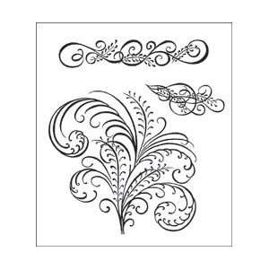 Creations Cling Rubber Stamp Set 5X6.5 Arts, Crafts & Sewing