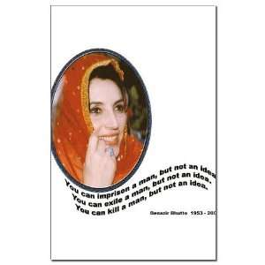 Bhutto Pakistan Mini Poster Print by CafePress: Patio