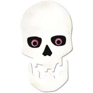 Sizzix Originals Dies: Medium Skull: Arts, Crafts & Sewing