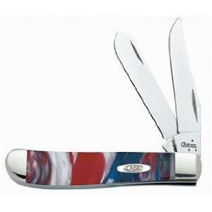 CASE XX Pocket Knife MINI TRAPPER Star Spangled Banner Corelon