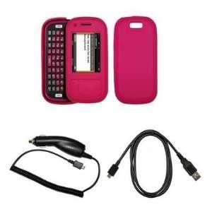 Premium Red Soft Silicone Gel Skin Cover Case + Rapid Car