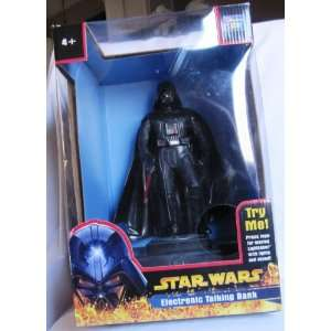 Star Wars Darth Vader Electronic Talking Bank Toys & Games