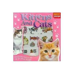 Sticker Stations Kittens and Cats (9781845105389) Top
