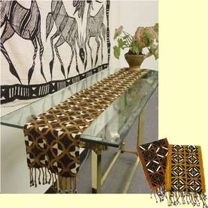 Extra Wide Mudcloth Scarf/Table Runner