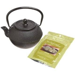 10129 Pre Seasoned 2 Quart Cast Iron Tea Kettle