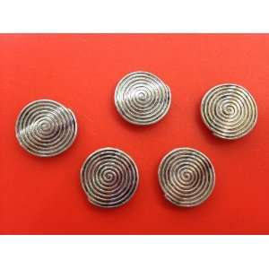Tibetan Silver Spacer Metal Bead Jewelry Findings Arts, Crafts