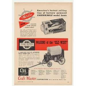 1964 Craft Master Fleet Line Boat Wagon Masters Kit Print