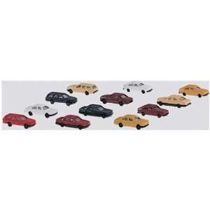 Cars Set Kit to Make 12 Assorted Trucks  Toys & Games