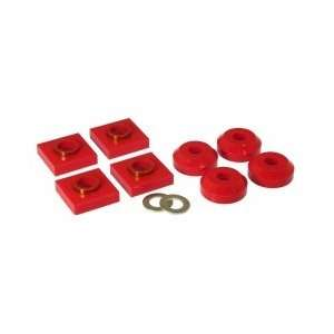 Prothane 6 1601 Red Transfer Case Mount Kit Automotive